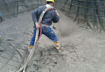 Concrete hose Sprayed flex cement hose  - Industrial Hose
